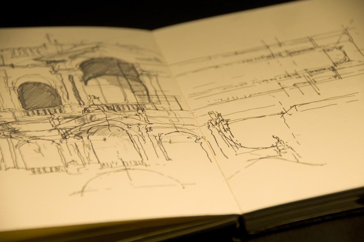 Rome Sketchbook - Kaiyil Gnanakumaran (1st yr, 2010)