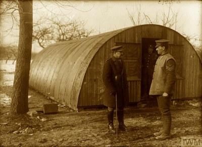 Wartime huts   Karey Draper