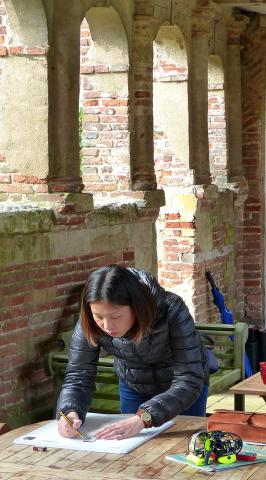 Building recording at West Stow Hall (3)