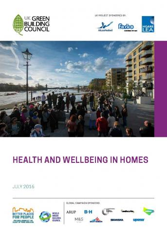 Health and wellbeing in homes report