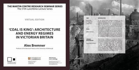 Martin Centre Seminar Alex Bremner