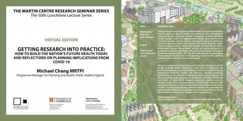 Martin Centre Seminar    Michael Chang