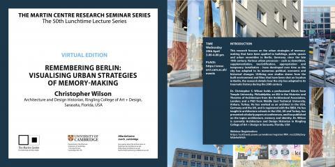 Martin Centre Seminars Remembering Berlin