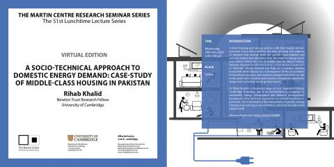Martin Centre Seminars Rihab Khalid