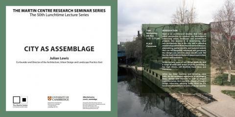 The Martin Centre Seminar Series   Julian Lewis