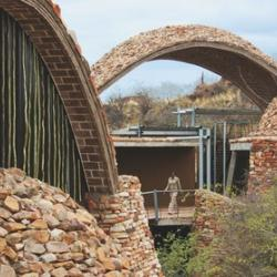 Michael Ramage wins the Wienerberger Brick Award 2012 with Peter Rich and John Ochsendorf for the Mapungubwe Interpretive Centre