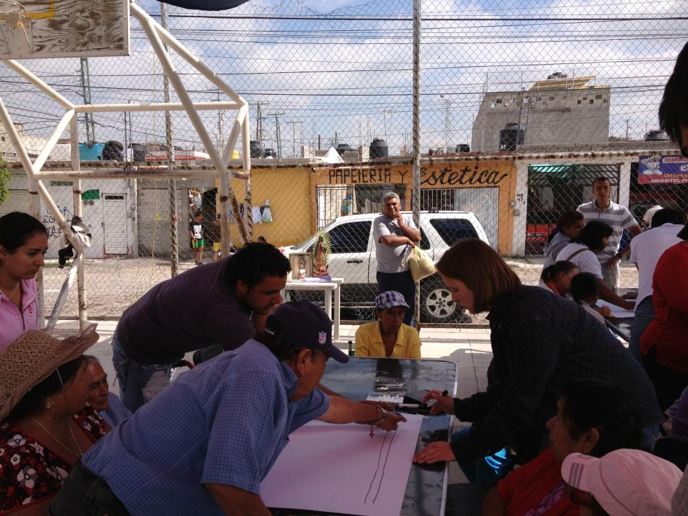Cities South of Cancer does community work in Mexico