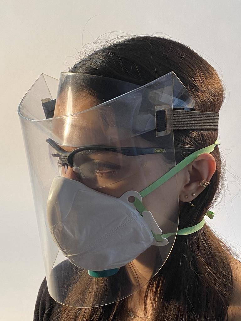 HappyShield: The Department of Architecture's Response to Covid-19 PPE Shortage