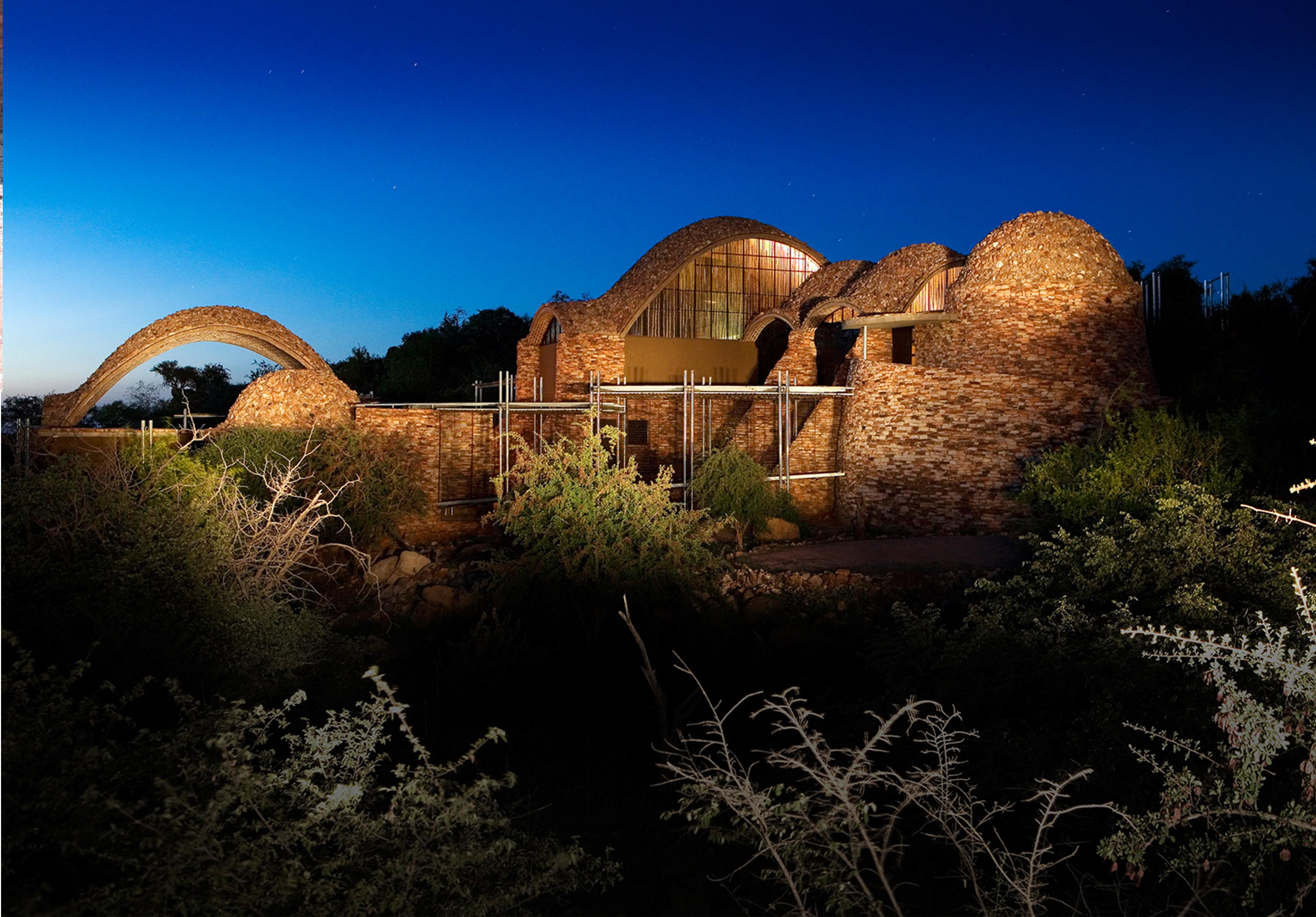 Mapungubwe National Park Interpretation Centre by Michael Ramage, Peter Rich and John Ochsendorf has been shortlisted for the Aga Kahn Award for Architecture