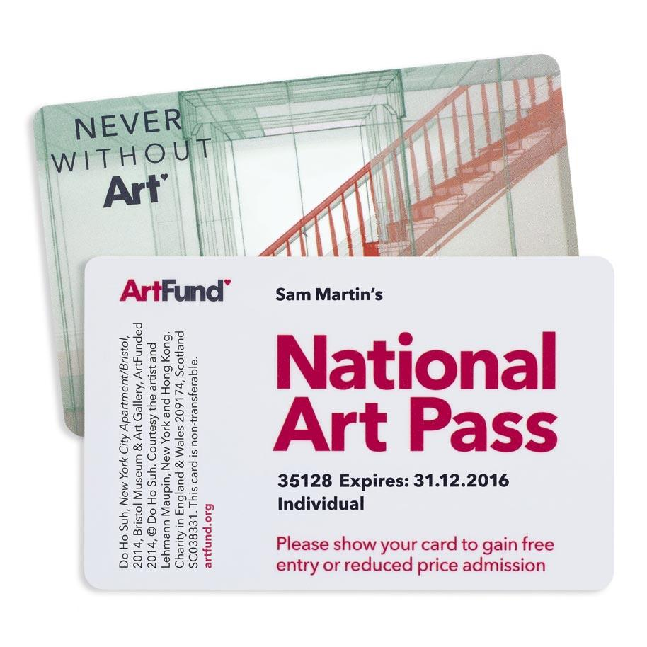 Apply now for your Student National Art Pass
